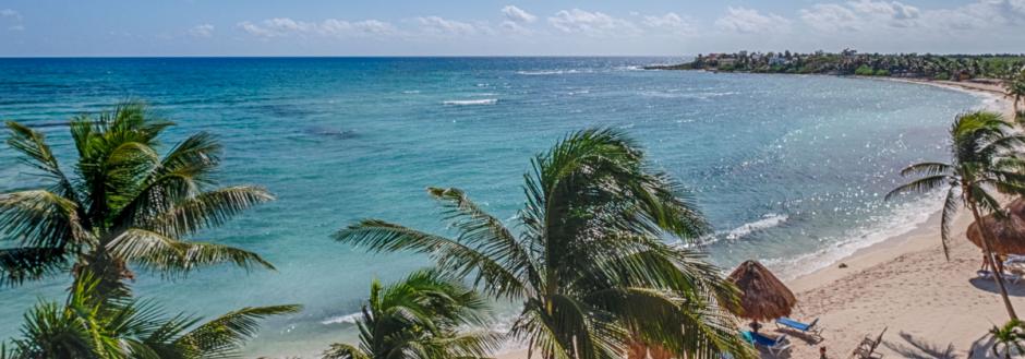 beachfront vacation rental, akumal, riviera maya