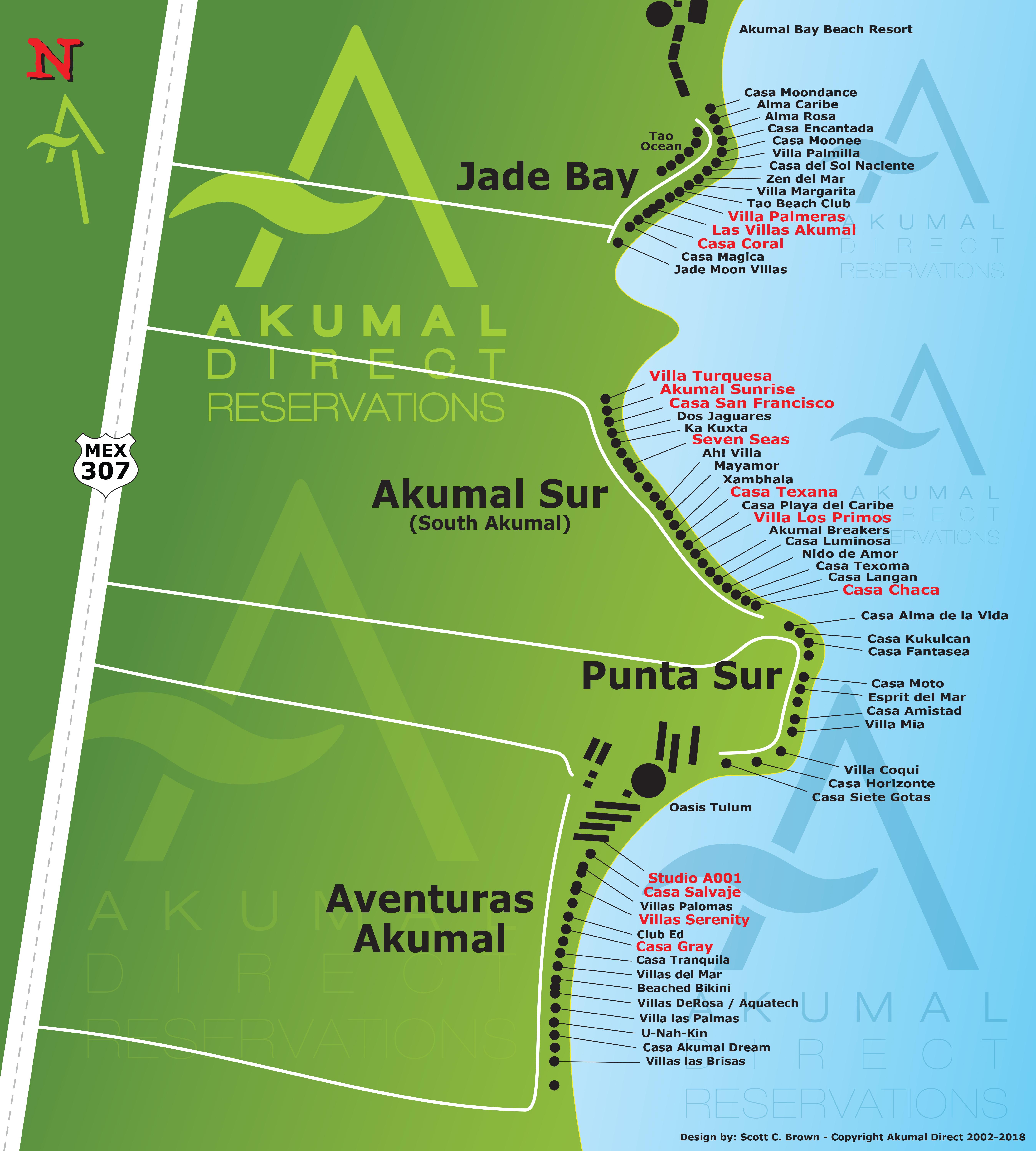 Maps | Akumal Direct